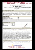 Scheda Tecnica CNF 14KWS2 LR00 T-1